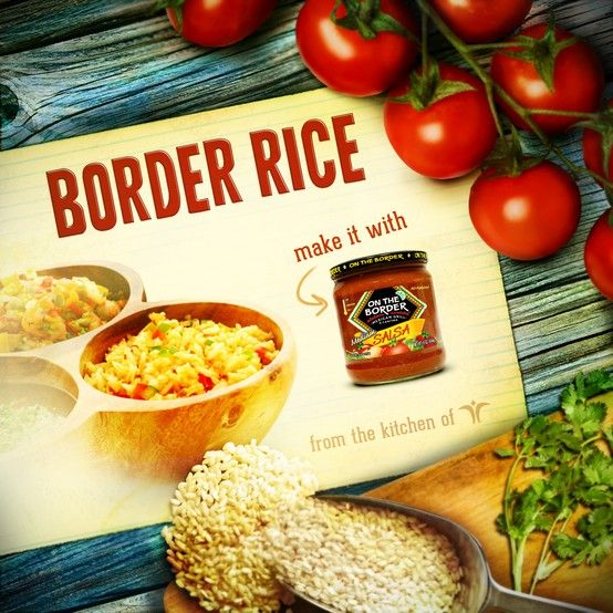 Find the best tasting mexican style rice at www.ontheborderproducts.com/recipes/entrees/border-rice/: Easy Recipes, Tasting Mexican, Mexican Style