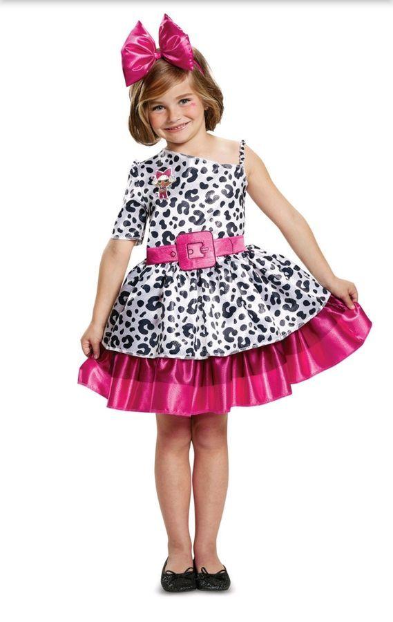 Halloween Costume 4 5.Lol Surprise Doll Diva Classic Halloween Costume Glam Small 4 5 6 In