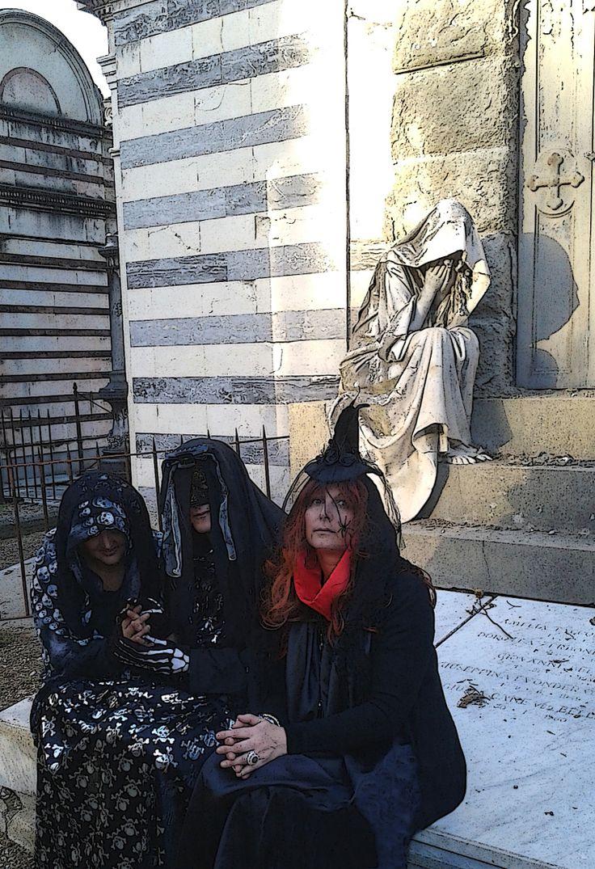 Da sinistra a destra: Ritanne du Lac, Monsieur de Belphégor e Marine Larouge.  http://libristellari.webnode.it