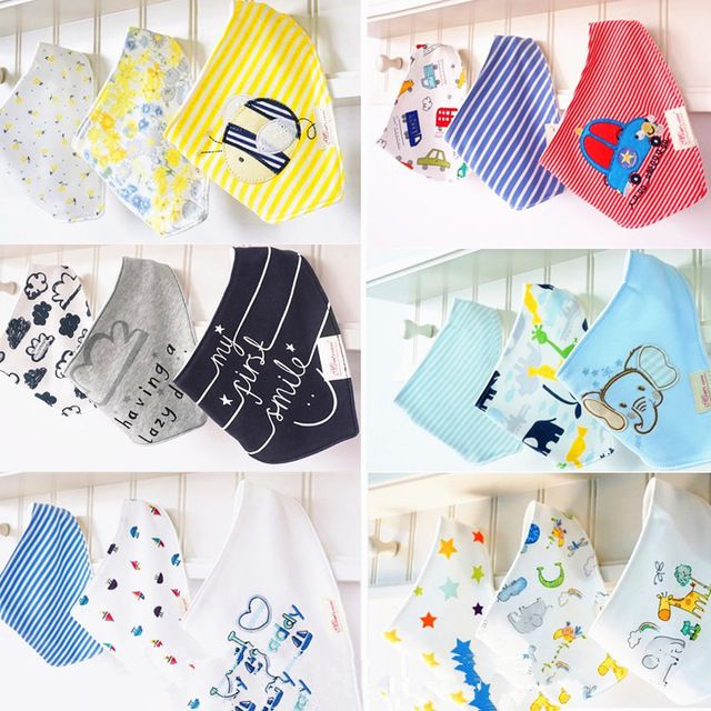 Check current price 3pc/lot 100% cotton baby clothing girls baby bibs towel bandanas chiscarf ldren cravat infant towel atrk0001 just only $4.24 with free shipping worldwide  #babyboysclothing Plese click on picture to see our special price for you