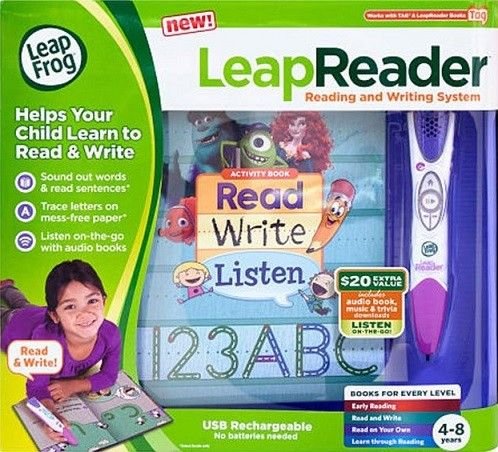 Leap Frog Leap Reader - Pink