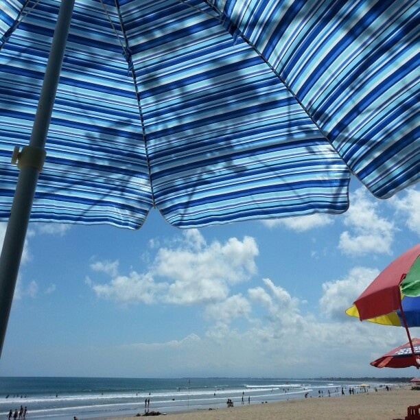 ..beaching around doing nothing..