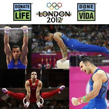 Donate Life Organ and Tissue Donation Blog (sm): US Olympic Gymnast Daniel Leyva wears Donate Life bracelet in honor of organ donor friend