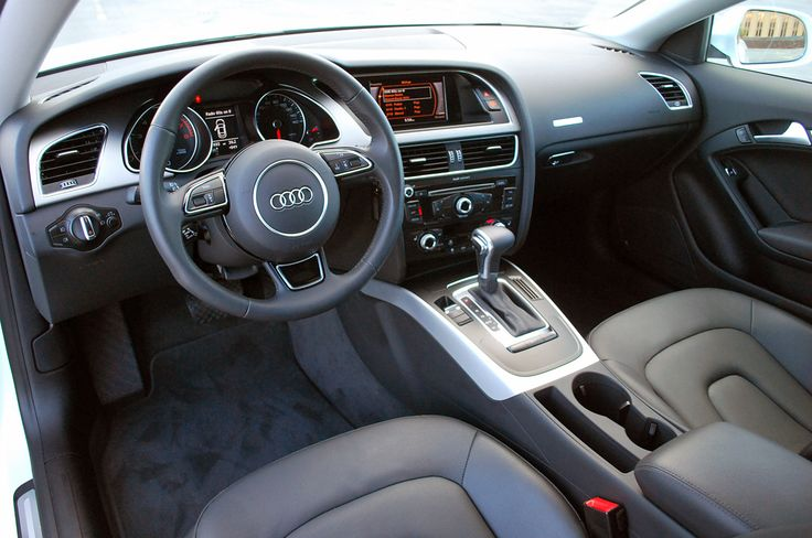 2013 Audi A5 Coupe White Car Interior Audi Pinterest A5 Coupe Audi A5 And Cars