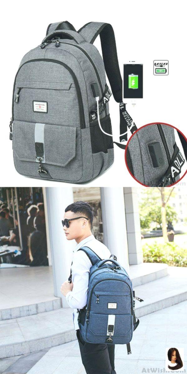 Einfache High School Bag Outdoor Große Reiserucksack Sport Travel Business Computer Tasche Rucksack