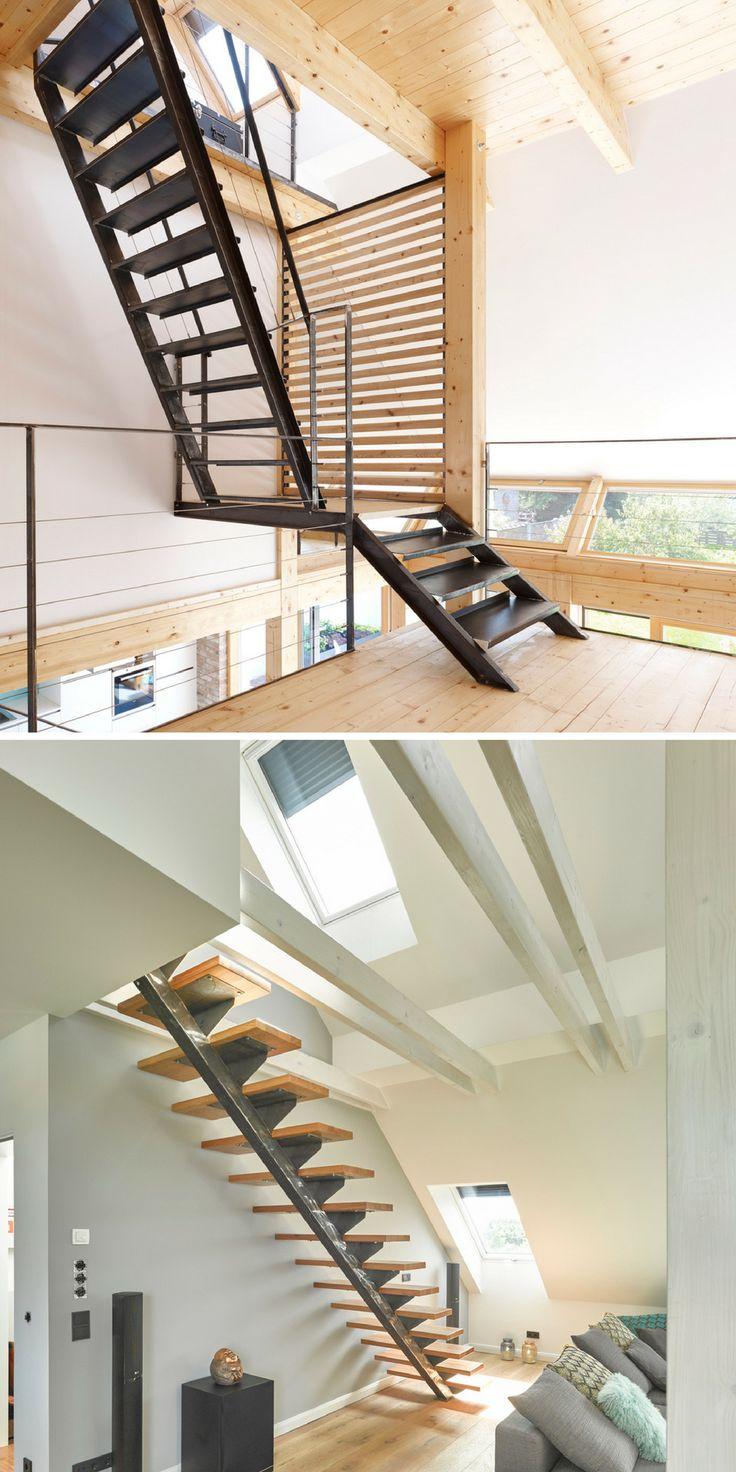Les différentes formes d'escalier | Rêve de combles® Si vous souhaitez rénover ou installer un escalier, il est nécessaire de se concentrer sur plusieurs critères. D'abord, la forme : escalier droit, le quart tournant, le double quart tournant, l'hélicoïdale, l'escalier à pas japonais ou l'échelle de meunier, lequel choisir ? Réfléchissez avant toute chose au confort dont vous avez besoin. Cela varie selon les personnes qui composent le foyer.