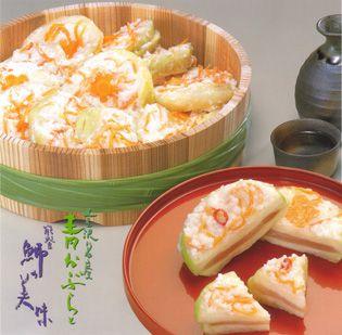 冬のかぶら寿司