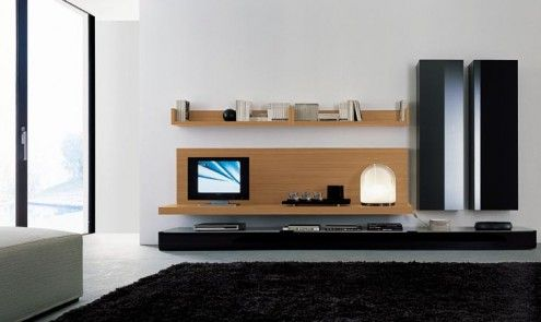 Modern Wall Units #homes #furniture