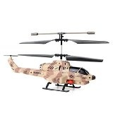 Helizone Combat Fighter 3.5 Channel Gyro Missile Shooting RC Helicopter