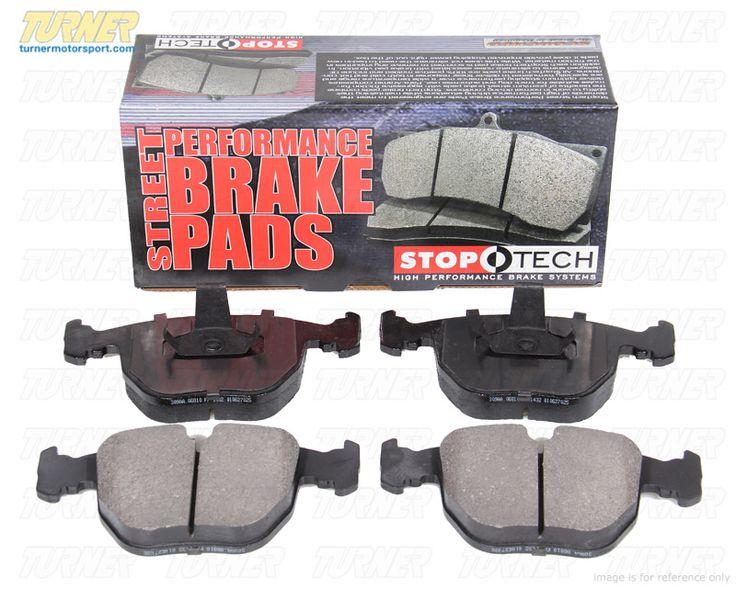 StopTech Street Performance Brake Pads - Rear - E31, E38, E39 M5, E46 330/M3, E53, E83, Z4M, Z8 - Turner Motorsport