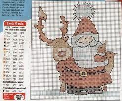 Хобби женская работа - вышивка - вязание крючком - трикотаж: рождественские вышивки