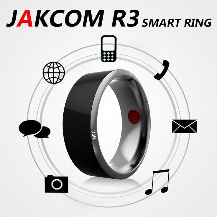 Boblov JAKCOM TimeR Smart Ring--R3, Waterproof App Enabled Rings, App Enabled Wearable Technology with Health Stone Universal For iphone IOS and All Android Windows NFC Mobile Phones (Black, 11(66mm)), Rings - Amazon Canada