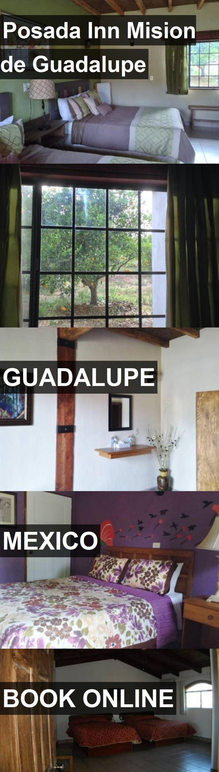 Hotel Posada Inn Mision de Guadalupe in Guadalupe, Mexico. For more information, photos, reviews and best prices please follow the link. #Mexico #Guadalupe #hotel #travel #vacation