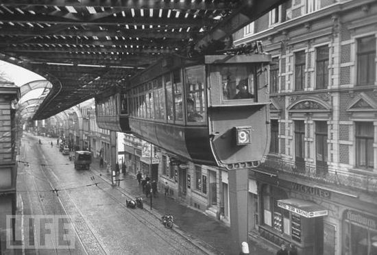 wuppertal tram line