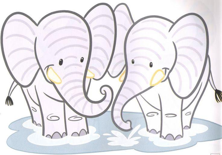 schrijfpatroon olifanten
