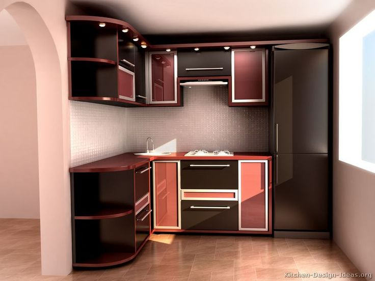 kitchen idea of the day modern red kitchens - Red Kitchen Ideas
