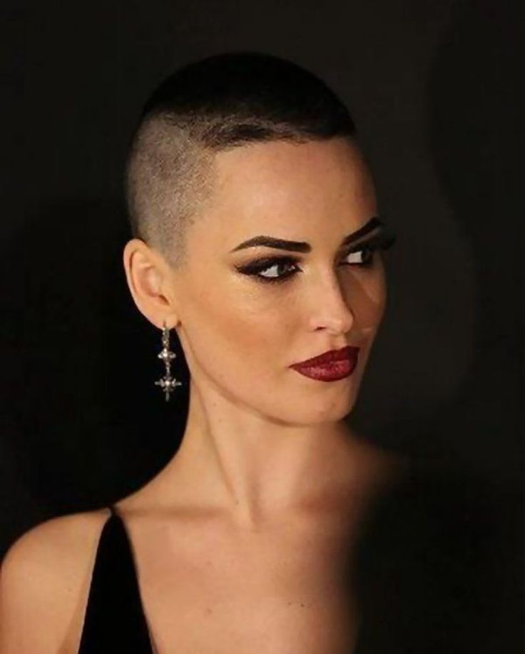 buzzed hair styles buzz cut 2 ombre hair for 3038