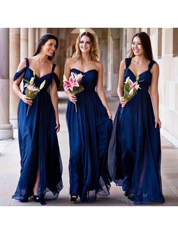 Elegante Chiffon Bruidsmeisjes Jurken