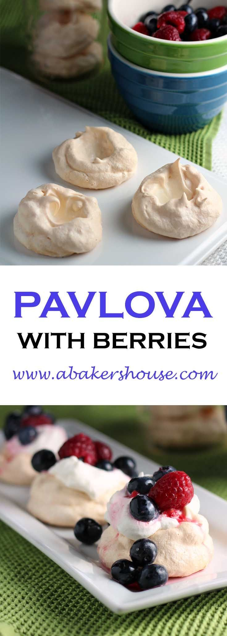 Make this Pavlova with Berries in anticipation for summer, and as we approach this Memorial Day weekend I am ready to enjoy the brightness that berries lend to a plate. This gluten free dessert is easy to make and ready for entertaining.