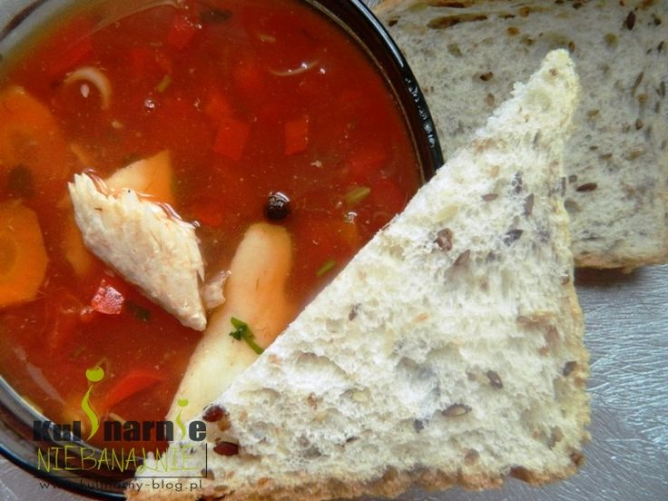 pomidorowa zupa rybna