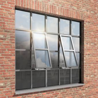 JANISOL STEEL WINDOW FROM SCHUECO JANSEN