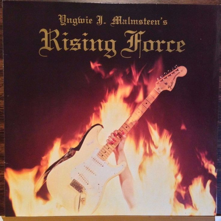 Yngwie Malmsteen / Rising Force / Import / Near Mint / RARE / Vinyl LP Record #PowerProgressiveMetal