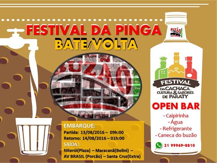 Festival da Pinga 2016 - Batevolta - Buzo Oficial