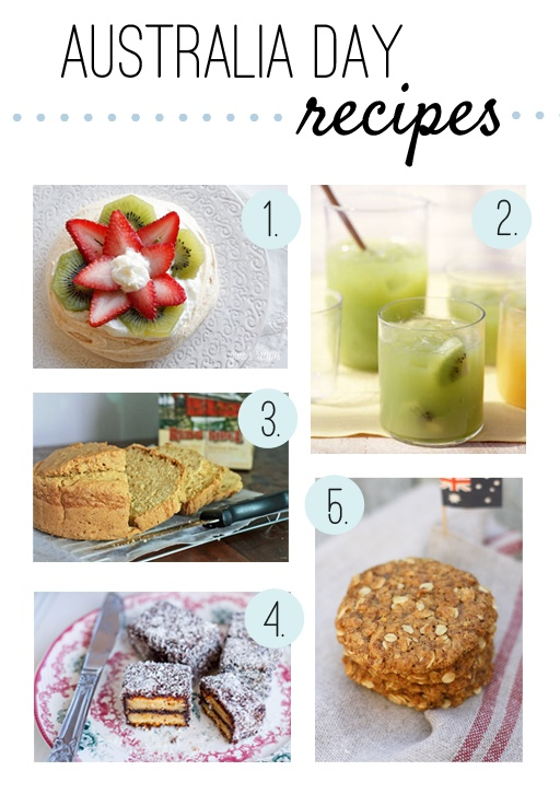 Australian recipes for Australia Day (a few days late!)