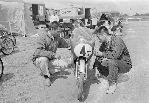 TT Assen. Katayama (Japan), Suzuki team by Nationaal Archief, via Flickr