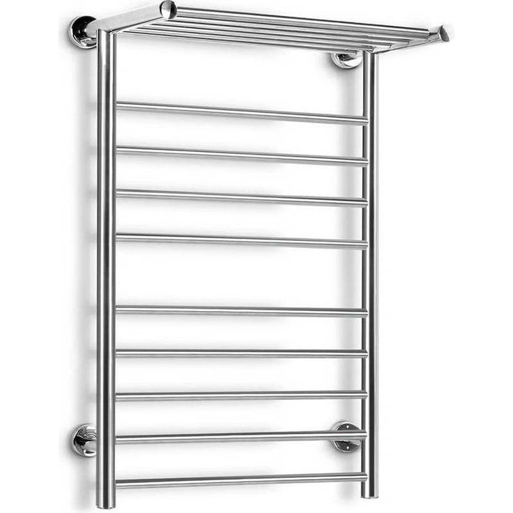 Electric Wall Mounted 14 Rung Heated Towel Rail | Buy Heated Towel Racks