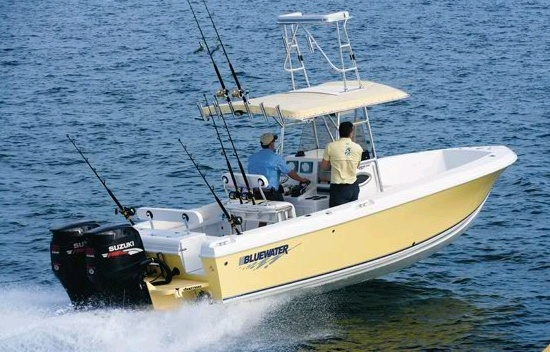 2350 Center Console Fishing Boat.