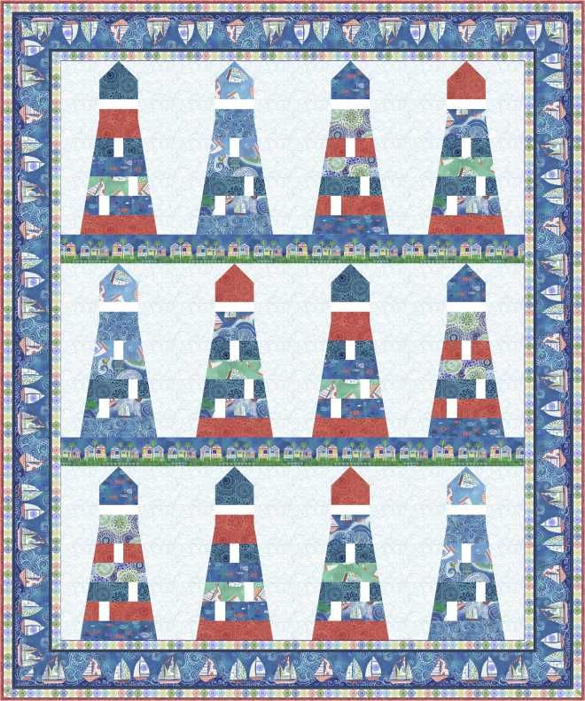 Lighthouse Quilt Pattern : 25 best images about lighthouses on Pinterest Pigeon, Layout and Album