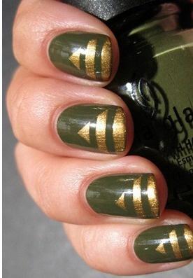 Army Nail Art Best 25+ Military nail...