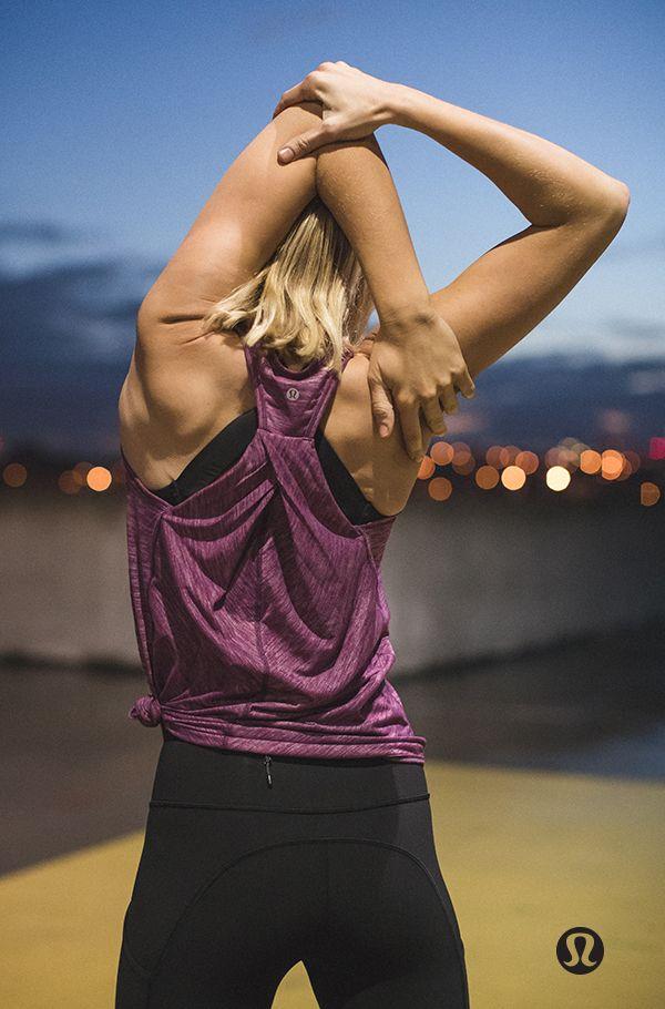 Sweat, sweat, sweat then stretch it out.