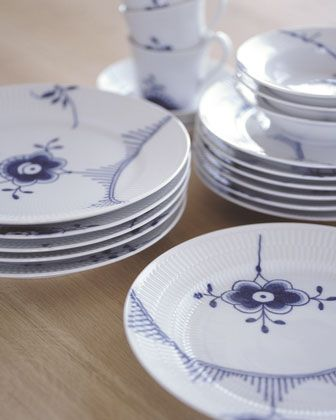 Royal Copenhagen Blue Fluted Mega Dinnerware - Neiman Marcus