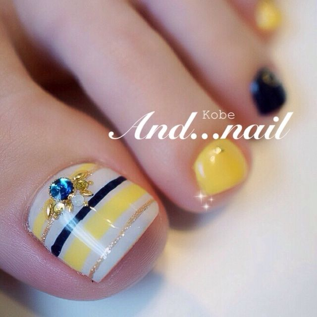 Funky Toe Nail Art 15 Cool Toe Nail Designs For Teenage Girls: Best 25+ Pedicures Ideas On Pinterest