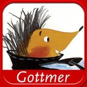 Nippertje. Een rijke prentenboek app over een egeltje dat niet kan opschieten...