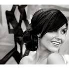 side bun wedding with flower - Google Search