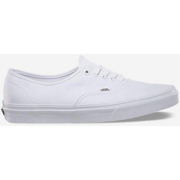 Vans Authentic True White Shoes ($50
