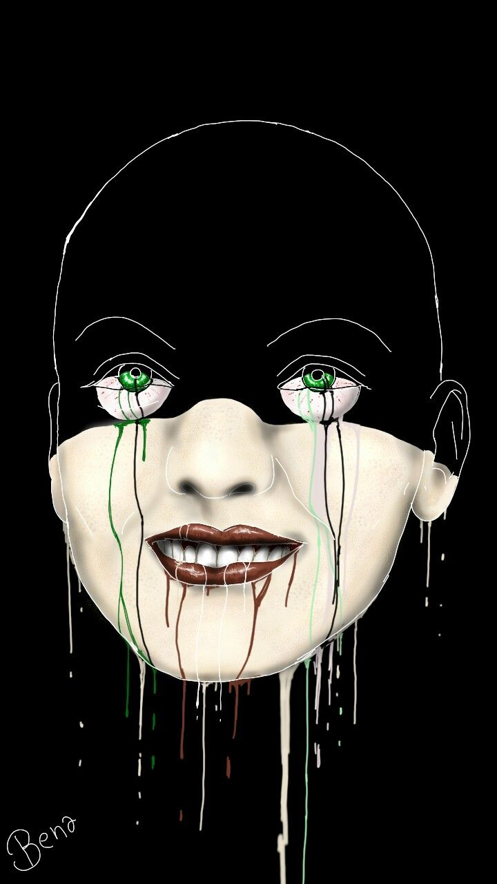#arte #conceitual # diluição facial #ilustração digital