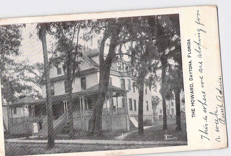 Daytona, Florida, FL 1903 The Howard House, Boarding House?