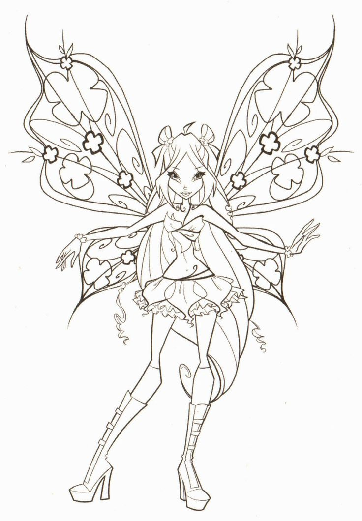 1174 best Fairy Crafts \ fun images on Pinterest Coloring books - best of fairy ballerina coloring pages