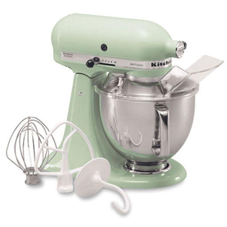 KitchenAid Artisan Mixer in Mint.