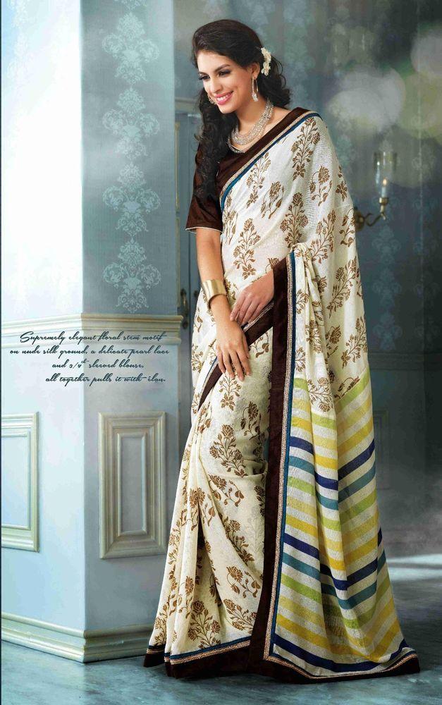 Buy 1 Get 1 Free Sari Partywear Bollywood Designer Dress Indian Ethnic Pakistani #TanishiFashion