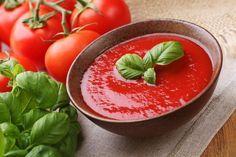 Рецепты изумительных блюд из овощей Томатный суп-пюре с запеченным перцем