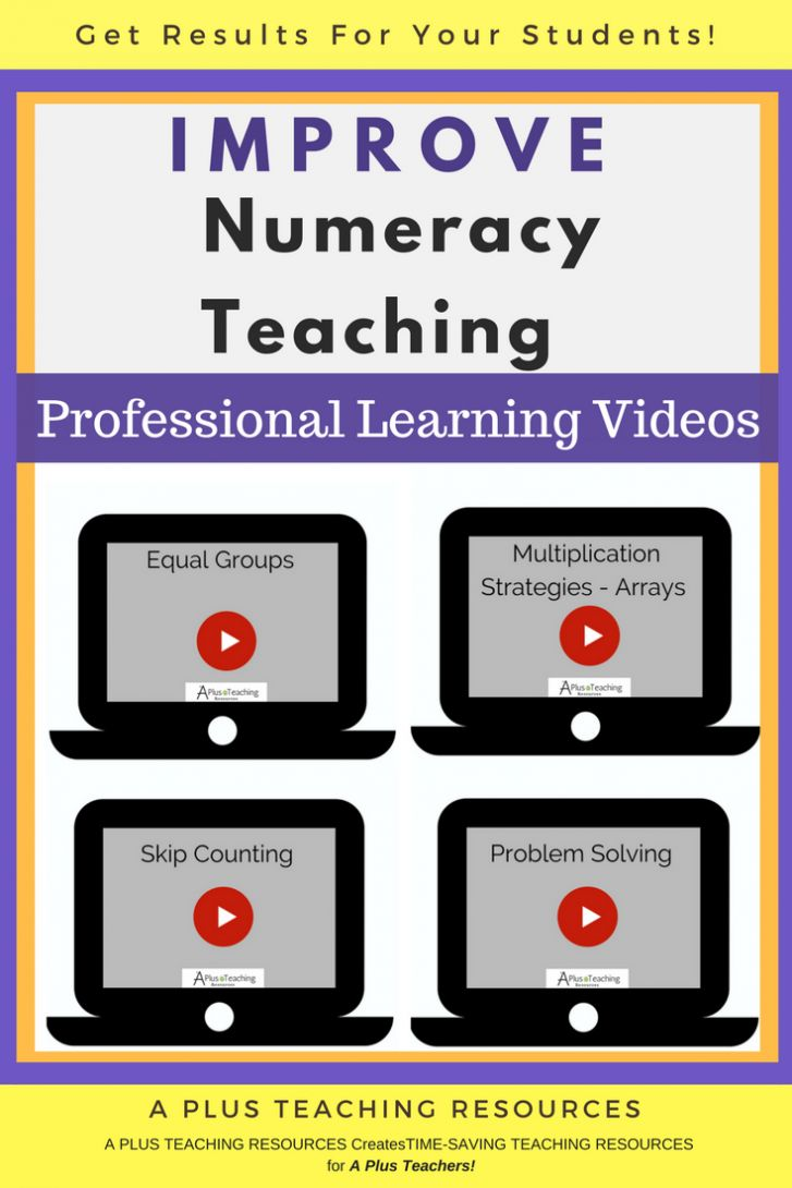 This is a collection of resources for teachers, assistants and home schoolers to help with planning, assessing and teaching numeracy concepts. Use these resources and videos when working on all areas of maths, including: number concepts, patterns and algebra, fractions, decimals and percentages, angles, units of measurement, money and financial mathematics, counting, place value, operations, …