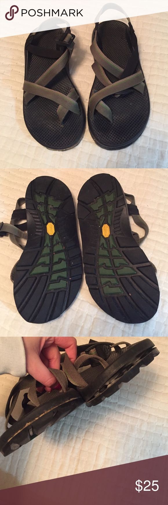 MEN's Chacos Men'a chacos. Wear shown in pictures. Could be gorilla glued to last longer. Chaco Shoes Sandals & Flip-Flops
