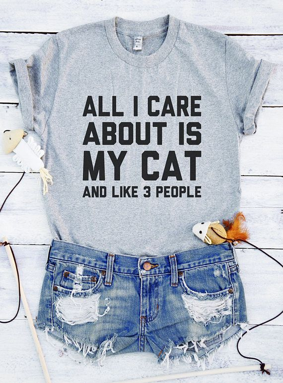 All I care about is my cat shirt funny cat shirts cat gifts tumblr graphic shirts teen shirt funny tee saying shirts all I care about shirtsTap the link to check out great cat products we have for your little feline friend!