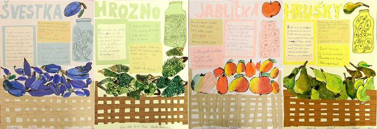 Ovoce - 2. třída
