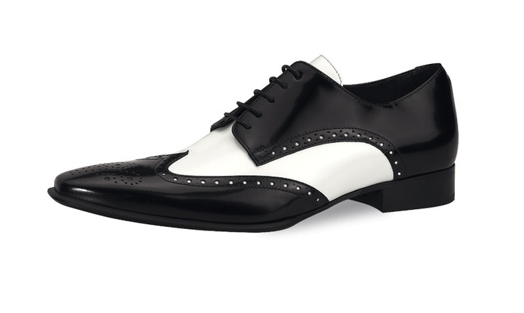 Schoenen : Mike zwart/wit